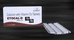 Calcium Carbonate 1250 mg & Vitamin D3 250 I.U