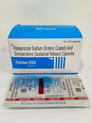 Rabeprazole Sodium (Enteric Coated) And Domperidone (Sustained Release) Capsules