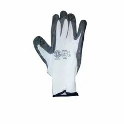 Cotton CE Nitrile Coated Gloves