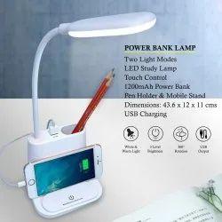 Power Bank Lamp With Mobile Holder And Pen Holder Multi-function Desk Lamp