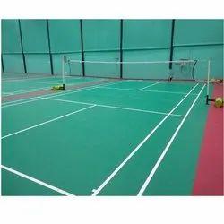 Vinyl  Badminton Court Flooring