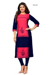 Simple Slab Cotton Kurti