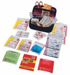 Red Nylon Travel Emergency Kit, Model Name/Number: SJF-T3