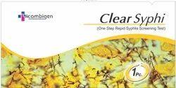 Clear Syphi Plastic Syphilis Rapid test