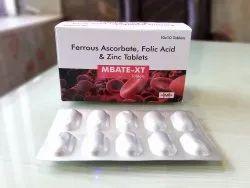 Ferrous Ascorbate  Folic Acid  Zinc