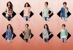 Printed Short Kurti Tunics