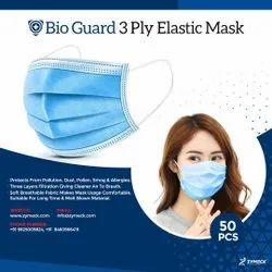 Disposable Non Woven 3 Ply Face Mask