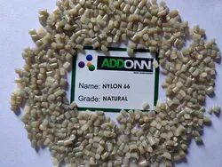 Nylon 66 Plain Natural Granules