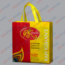 Printed Sweets Shopping Bag