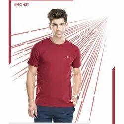 100% Premium Combed Cotton ONN Men's T Shirt, Size: XS-XL, XXL - 4 XL