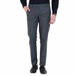 Dark Grey Mens Formal Pant