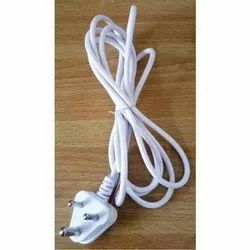 3 Pin White Power Cable, Voltage: 250 V