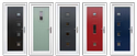 UPVC Colored Doors