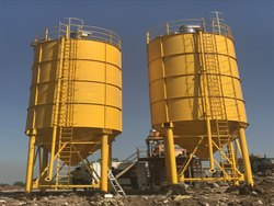 Bolted Silo for Dry Powder