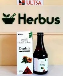 An Ayurvedic Blood Platelets Enhancer (Giloy Papaya Leaves Kiwi Tulsi Black Pepper ) Syrup