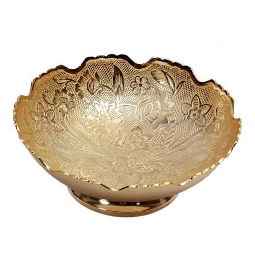 Brass Bowls, for Home, Packaging Type: Box