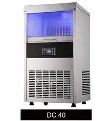 40 KG Dice Shape Ice Cube Machine