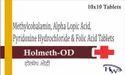 Methylcobalamin Alpha Lipoic Acid Pyridoxine Hydrochloride & Folic Acid Tablets