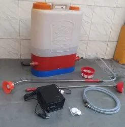 Ultra power battery sprayer