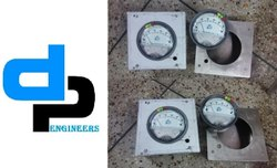 Aerosense Model ASG-25 Differential Pressure gauges ranges 0-25 Inch wc
