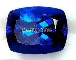 Tanzanite Faceted Cushion Gemstones