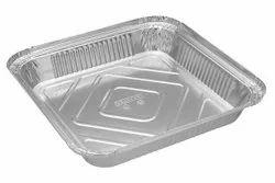 Paramount 9x9 Deep (2100 Ml) Disposable Aluminium Foil  Food Container