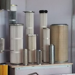 Shot Blasting Machine Filter Cartridges
