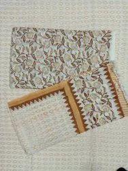 Floral Multi Color Suit Set With Dupatta Cotton Cambric Fabric