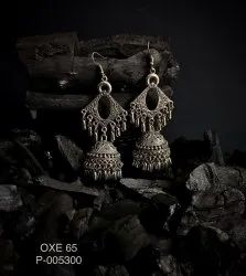 Oxidized Earrings OXE 65