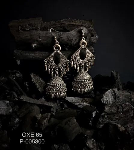 OXE 65 Oxidized Earrings
