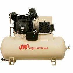 20 HP AC Three Phase Ingersoll Rand Reciprocating Air Compressor
