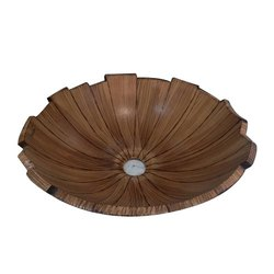 Brown Ceramic Designer Wash Basin